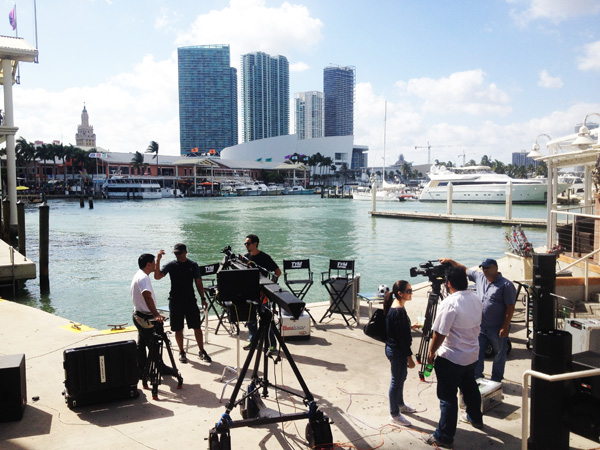 On Location in Miami